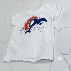 EUC Hanna Andersson 🐬 Dolphin Sparkle T